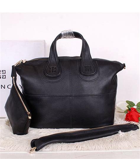 givenchy black original leather designer bag medium bag replica handbags