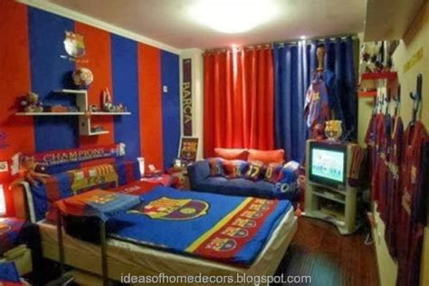 football themed bedroom boy s football bedroom themed decoration ideas