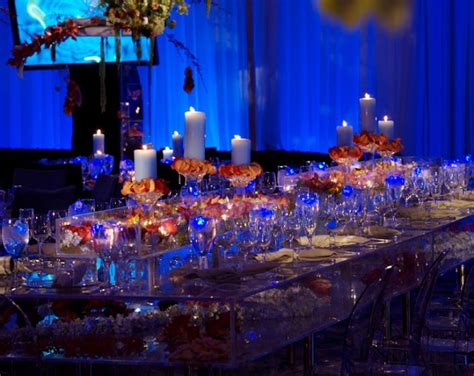 orange and blue decor meant2be events august 2013