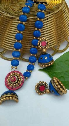 Asha Handcrafted Jewelry - 1000 images about terracotta jewelleries on