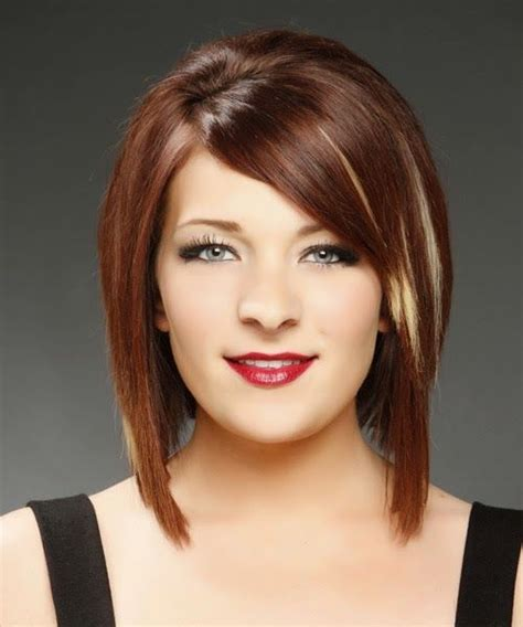 pic long bob with razor ends medium razored bob with side bangs my style hair
