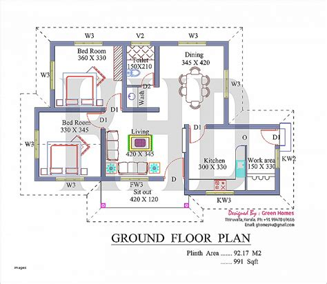 950 square feet house plan inspirational 950 sq ft house pla hirota