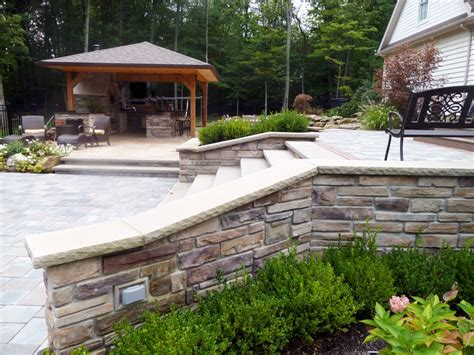 Backyard Pool Bars Backyard Pool Area And Bar