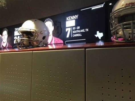 a m locker room a m unveils new locker room for football team bleacher report