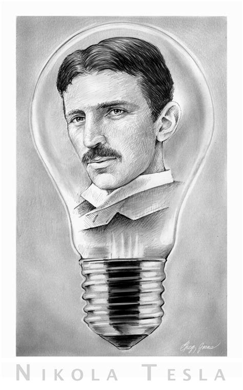 Tesla Invented The Lightbulb Idol Threat Warning At The Mainstream Happy