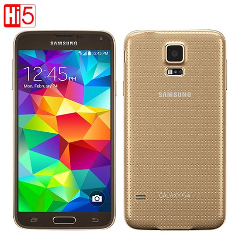 Samsung S5 original samsung galaxy s5 g900f android cell phone16g rom 16mp 5 1 quot touch screen