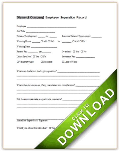 employee termination report