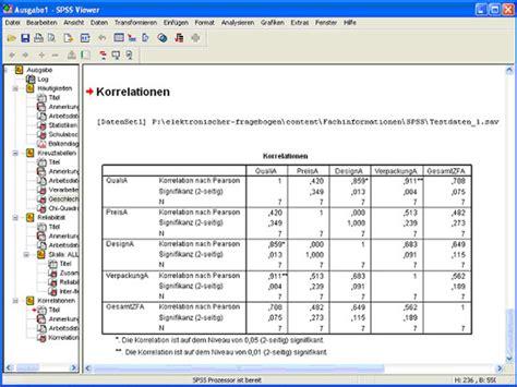 Fragebogen Design Vorlage 2ask Korrelationen Berechnen Mit Spss Erstellen Sie Ihre Umfrage Fragebogen Befragung