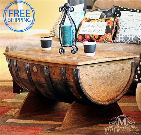 whiskey barrel side table 25 best ideas about whiskey barrel table on