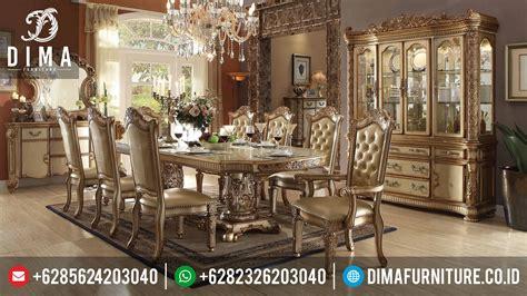 Murah Pluit Acme Murah set meja makan mewah terbaru acme vendome ukiran mebel jepara st 0351 sofa tamu jepara