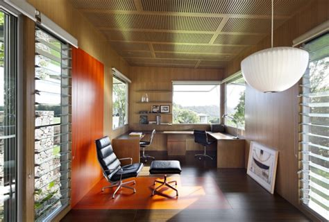 Home Office Design Architecture Home Office Design At Stunning Maleny House On Australia S