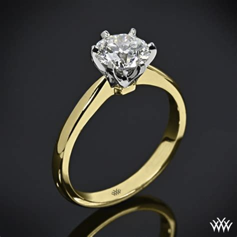 contemporary classic solitaire engagement ring 1417
