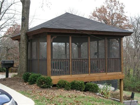 Backyard Enclosed Gazebo Best 25 Enclosed Gazebo Ideas On