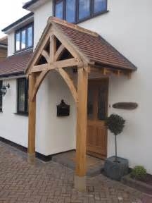 Front Canopy by Bespoke Green Oak Porch Front Door Canopy Handmade In