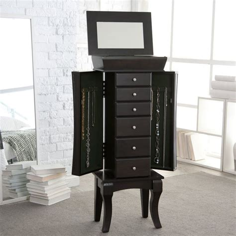 jewelry armoire contemporary contemporary jewelry armoire www
