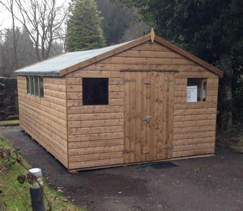 Sheds Falkirk timber garages amr sheds falkirk