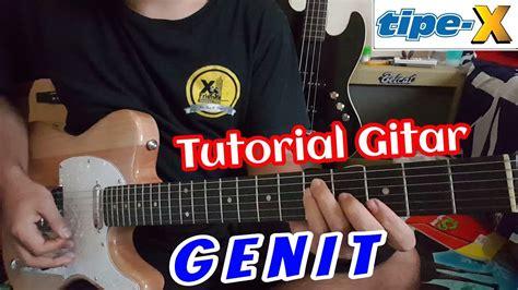 tutorial gitar tipe x tutorial gitar quot tipe x genit quot youtube