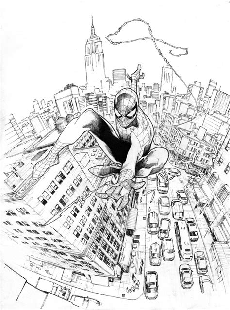 Amazing Spider-Man 700 Cover - Olivier Coipel, in Dermot D