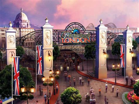 theme park ebbsfleet london paramount entertainment resort would be england s