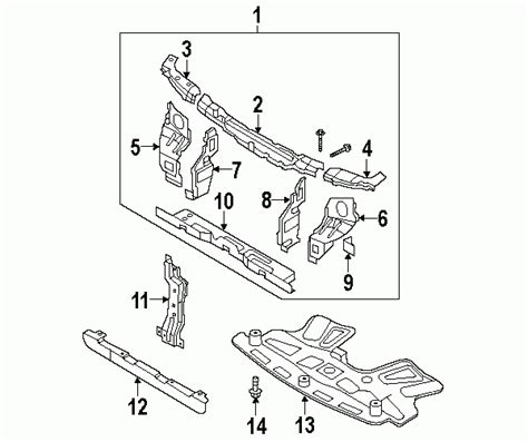 2005 kia sedona parts diagram automotive parts diagram