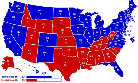 united states voting map every day is special november 6 2012 election day in