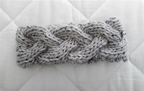 how to knit patterns braided knit headband patterns a knitting