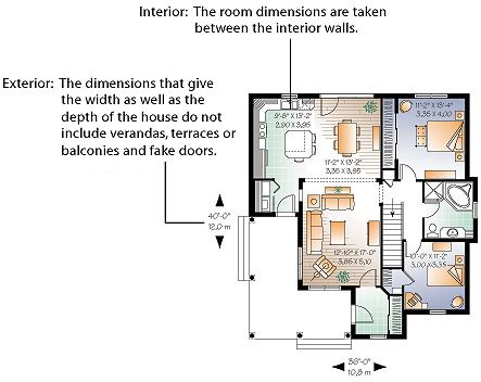 How To Draw A Basement Floor Plan dimensions calculation