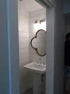 small pedestal sinks for powder room wood quatrefoil mirror pedestal sink transitional