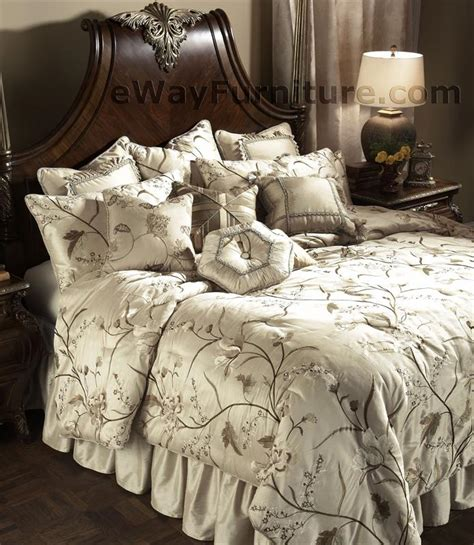 Aico Bedding Sets Blanca Bedding Set By Aico