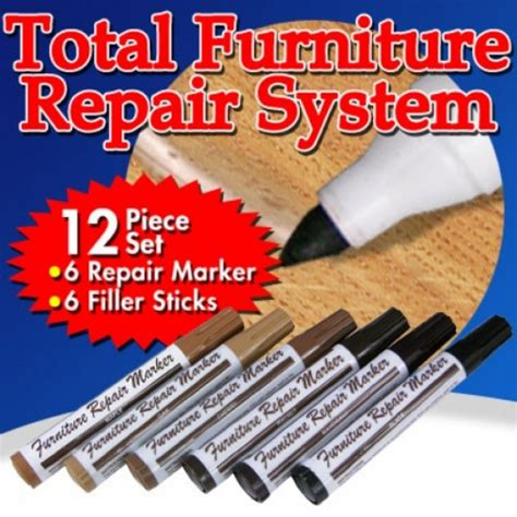couch fixer as seen on tv total furniture repair system new easy