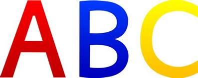 abc alphabet letters free clip