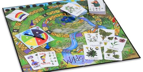 home design board games teach your children wild edible and medicinal plants with