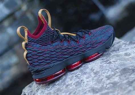 Nike Lebron 15 nike lebron 15 cavs preview sneakernews