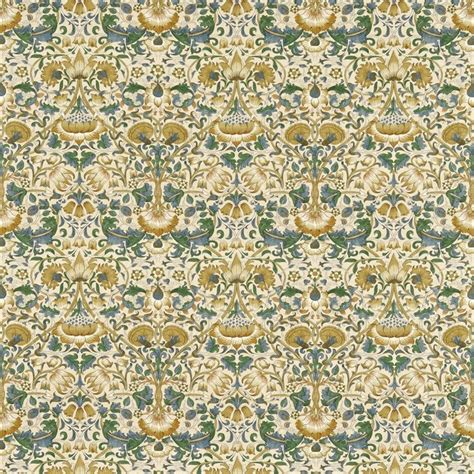 William Morris Upholstery Fabric by William Morris Lodden Fabric Manilla Bayleaf 222522
