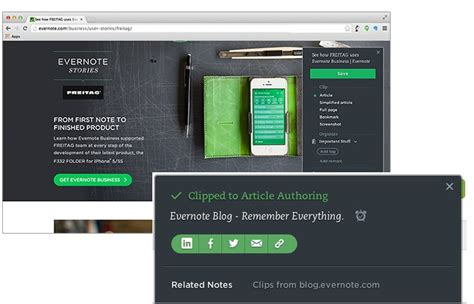 evernote web clipper android evernote web clipper for chrome update with new ui and more