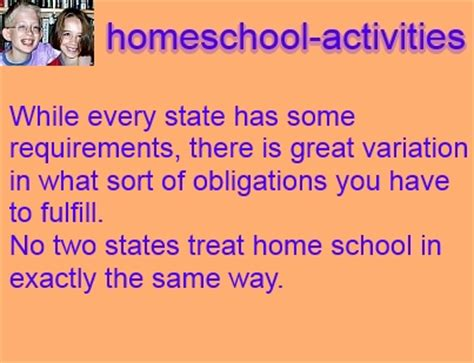 homeschooling laws requirements to follow