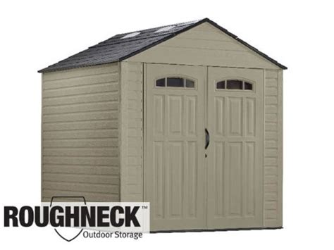 Roughneck Large Storage Shed by Rubbermaid Roughneck X Large Storage Shed 5h80 Gosale