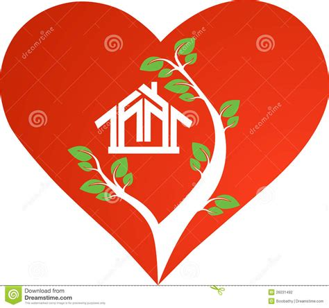 heart house heart house stock photography image 26031492
