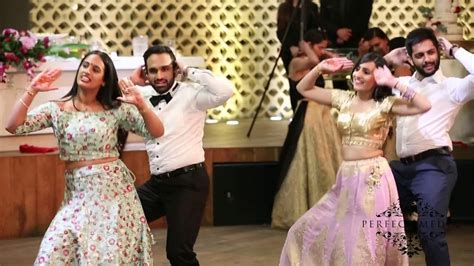Best Indian wedding reception dance   2017 (Bollywood