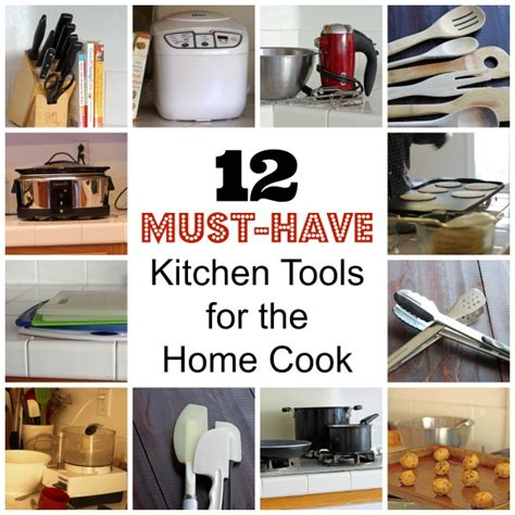 kitchen must haves list 12 must have kitchen tools for the home cook