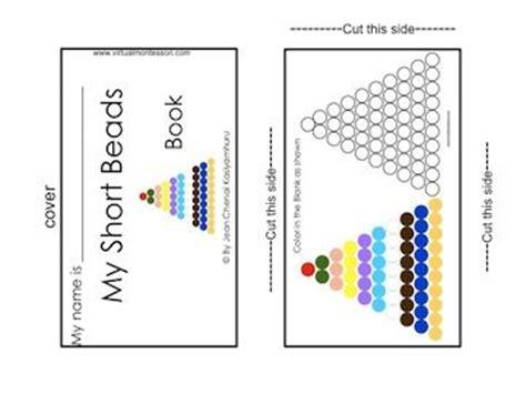 montessori beads printable 574 best rekenen images on pinterest montessori