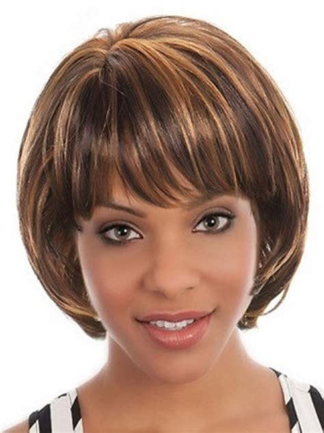 short high bob short high low bob on african american hair