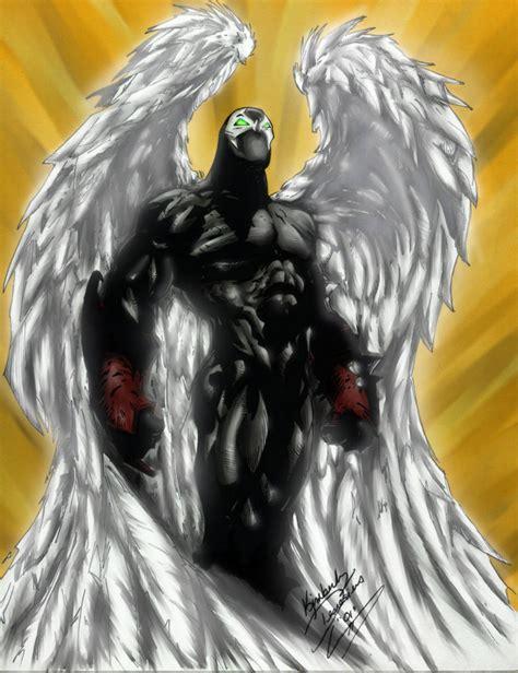 angel spawn by seraphimxiii on deviantart