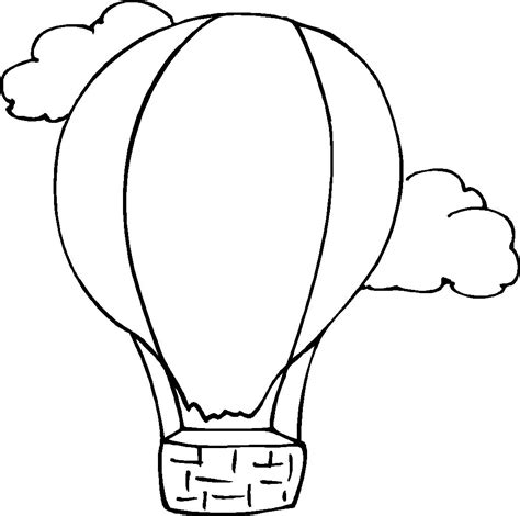 coloring pages balloons free printable hot air balloon coloring pages for kids