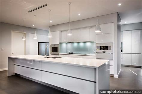 Kitchen Island Lighting Design real kitchen an understated contemporary space completehome