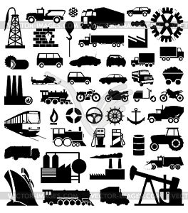 industry vector clipart
