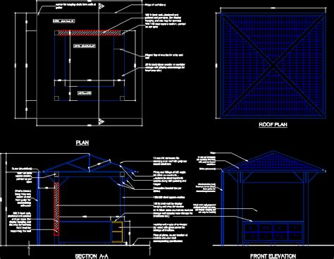 gazebo dwg dwg projects 3d projects cad tools 3ds max dxf