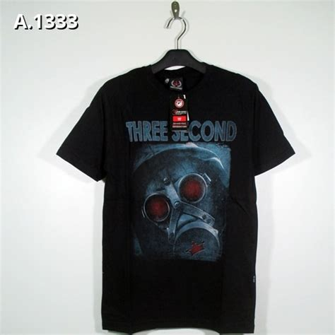 T Shirt Three Second Kaos 3second Baju 3second kaos oblong 3second a 1333 home