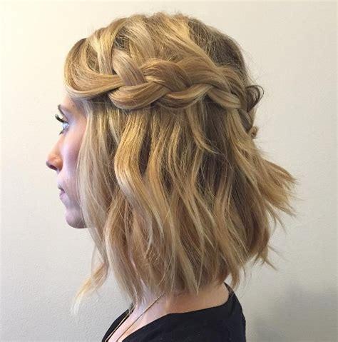 Wunderschöne Hochzeitsfrisuren by Awesome Flechtfrisuren Halblange Haare Bilder