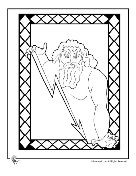 greek key coloring page color print test page coloring home